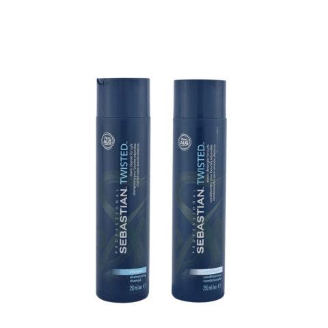 Sebastian Twisted Shampooing 250ml Apres Shampooing 250ml pour Cheveux Boucles