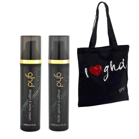 Ghd Kit Straight & Tame Cream 120ml Straight & Smooth Spray 120ml