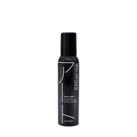 Shu Uemura Styling Kaze Wave Mousse Pour Cheveux Bouclés 150ml