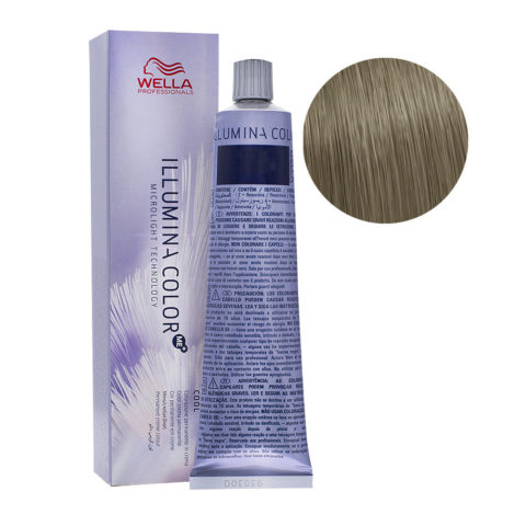 8/93 Blond Clair Fumé Doré Wella Illumina Color 60ml