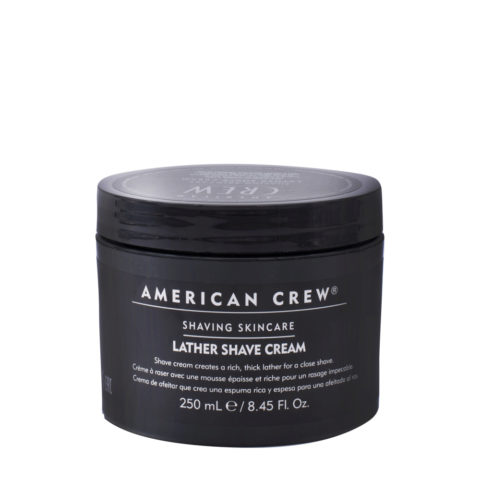 American crew Lather Shave Cream 250ml - crème à raser