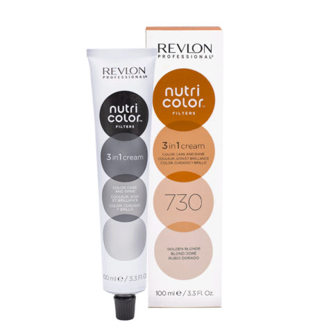 Revlon Nutri Color Creme 730 Blond Doré 100ml - masque couleur