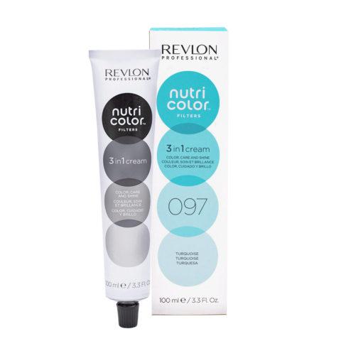 Revlon Nutri Color Creme 097 Turquesa 100ml - masque couleur