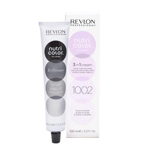 Revlon Nutri Color Creme 1002 Blanc platine 100ml - masque couleur