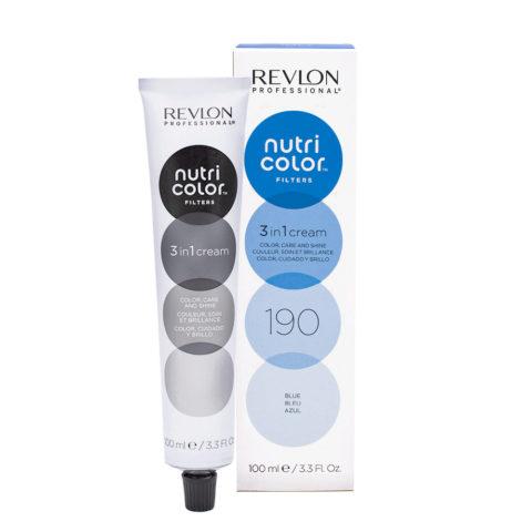Revlon Nutri Color Creme 190 Bleu 100ml - masque couleur