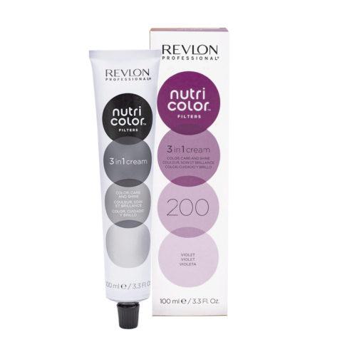 Revlon Nutri Color Creme 200 Violet 100ml - masque couleur