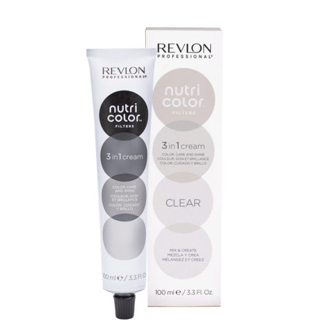 Revlon Nutri Color Creme 000 Clear / Blanc 100ml - masque couleur