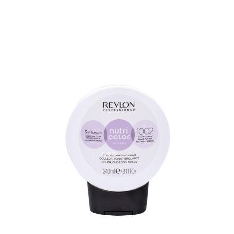 Revlon Nutri Color Creme 1002 Blanc platine 240ml