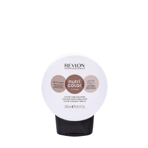 Revlon Nutri Color Creme 821 Beige Argenté 240ml - masque couleur