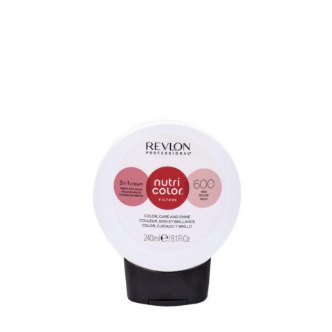 Revlon Nutri Color Creme 600 Rouge 240ml