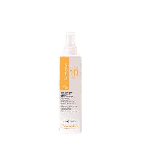 Fanola Nutri One Spray Masque Pour Les Cheveux Abimés 200ml