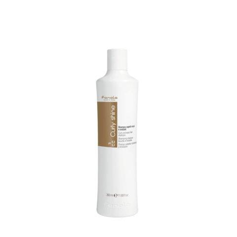 Fanola Curly Shine Shampooing Cheveux Bouclés et Ondulés 350ml