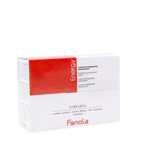 Fanola Energy Ampoules Energisants Anti - Chute 12x10ml