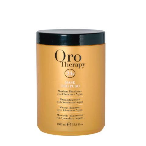 Fanola Oro Therapy Oro Puro Masque pour tous types de cheveux 1000ml