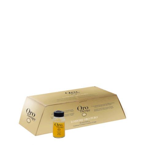 Fanola Oro Therapy Flacons restructurants pour tous types de cheveux 12x10ml