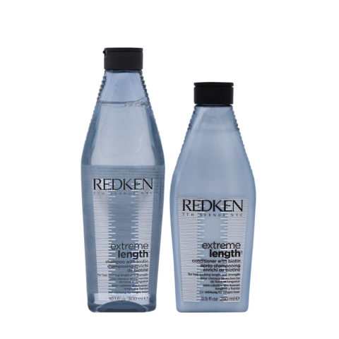Redken Extreme Length Shampooing Fortifiant 300ml Et Baume 250ml