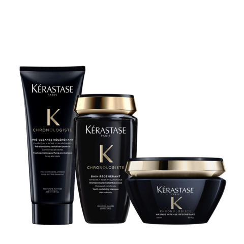 Kerastase Chronologiste Pre Shampoo 200ml Shampoo 250ml Masque 200ml
