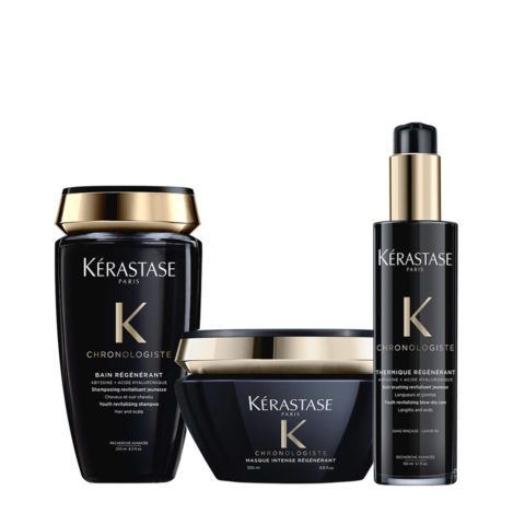 Kerastase Chronologiste Shampoo 250ml Masque 200ml Crème De Protection 150ml