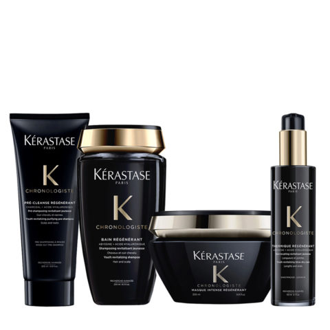 Kerastase Chronologiste Pre Shampoo 200ml Shampoo 250ml Masque 200ml Crème 150ml
