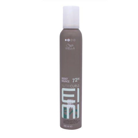 Wella EIMI Nutricurls Boost Bounce Mousse Cheveux Bouclés 300ml