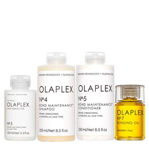 Olaplex Kit De Reconstruction Complet Pour Cheveux Abimés