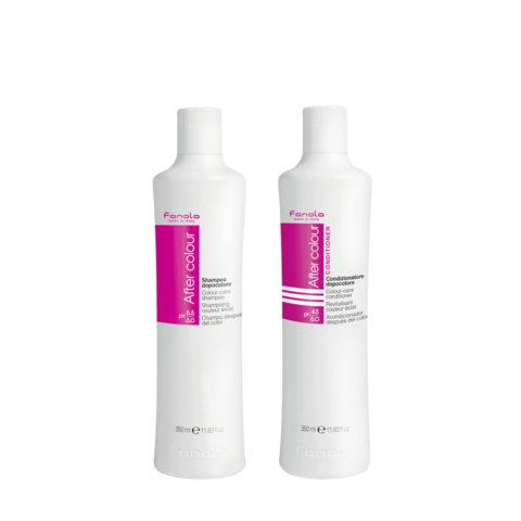 Fanola After Color Shampoo 350ml Et Après - Shampooing 350ml Pour Les Cheveux Colorés