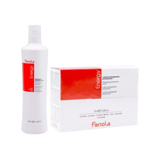 Fanola Shampooing Antichute 350ml Et Ampoules 12x10ml