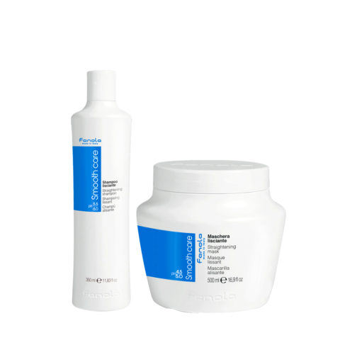 Fanola Smooth Care Shampooing 350ml Et Masque 500ml