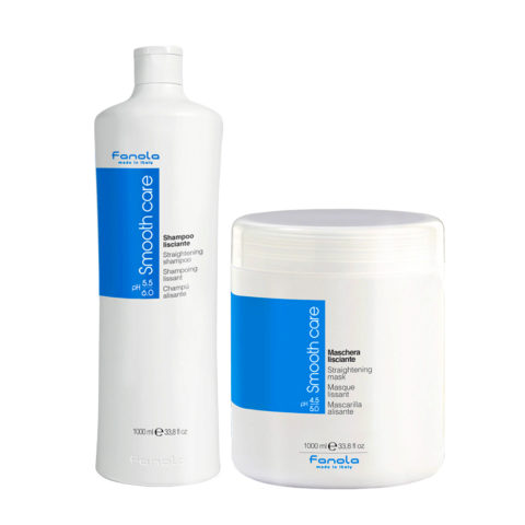 Fanola Smooth Care Shampooing 1000ml Et Masque 1000ml