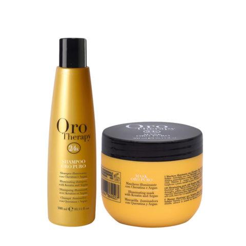 Fanola Oro Puro Shampooing 300ml Et Masque 300ml