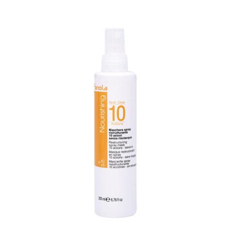 Fanola Nourishing Masque Spray Pour Les Cheveux Abimés 200ml