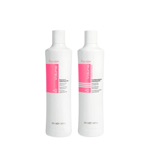 Fanola Volume Shampooing 350ml Après Shampooing 350ml Cheveux Fins