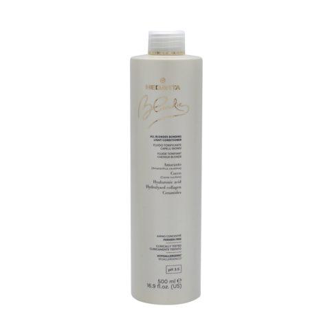 Medavita Blondie Après-shampoing Volumisé pour tous les cheveux blonds 500 ml