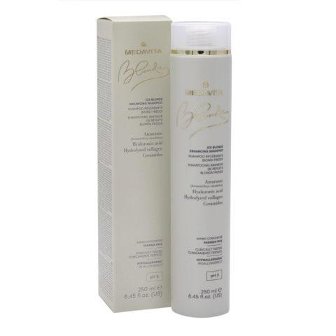 Medavita Blondie Ice Shampooing Illuminateur Pour Blond Froid 250ml