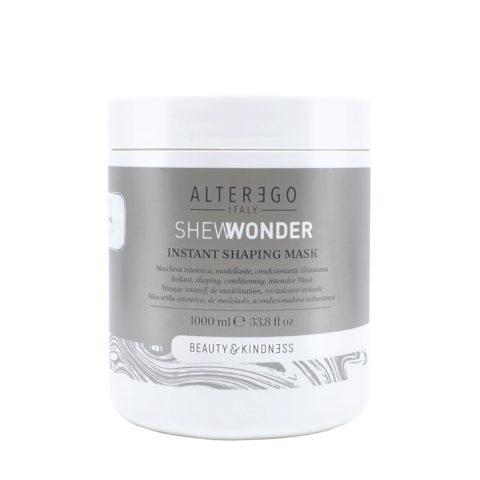 Alterego Shewonder Masque hydratant pour tous types de cheveux 1000ml
