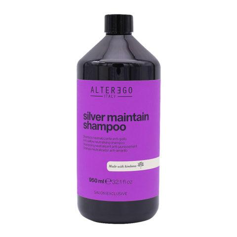 Alterego Silver Maintain Shampooing anti-jaune 950ml