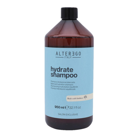 Alterego Hydrate Shampoo Hydratant pour cheveux secs 950ml
