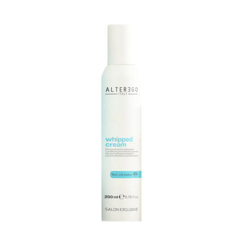 Alterego Whipped Cream Mousse hydratante crémeuse pour cheveux secs 200ml