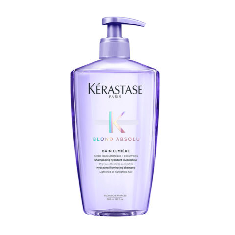 Kerastase Blond Absolu Bain lumiere 500ml - shampooing illuminateur cheveux blondes