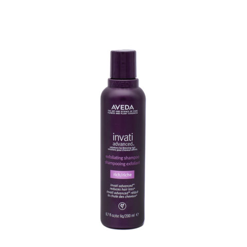 Aveda Invati Advanced Exfoliating Shampooing Pour Cheveux épais 200ml