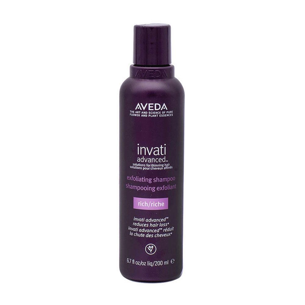 Aveda Invati Advanced Exfoliating Shampooing Pour Cheveux épais 200ml