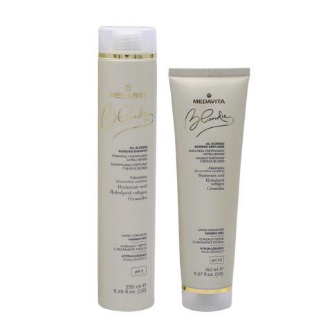 Medavita Blondie Shampooing 250ml Et Masque 150ml Pour Cheveux Blonds