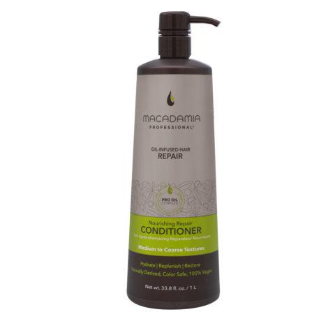 Macadamia Nourishing Repair Revitalisant pour cheveux secs et abîmés 1000ml