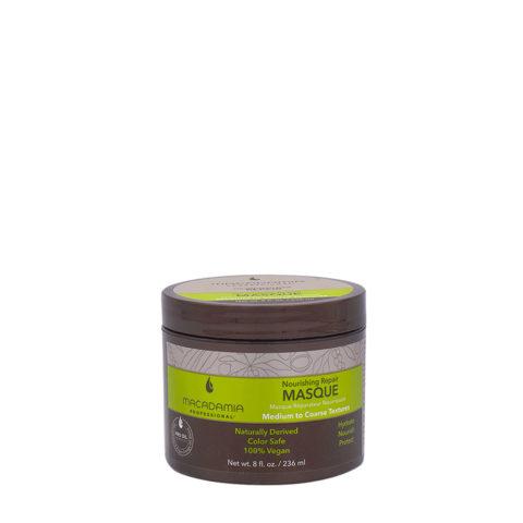 Macadamia Nourishing Repair Masque 236ml - Masque hydratant nutritif pour cheveux  moyens à épais
