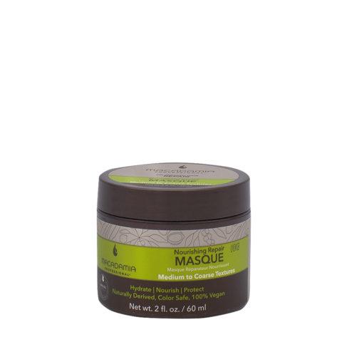 Macadamia Nourishing Repair Masque 60ml - Masque hydratant nutritif pour cheveux  moyens à épais