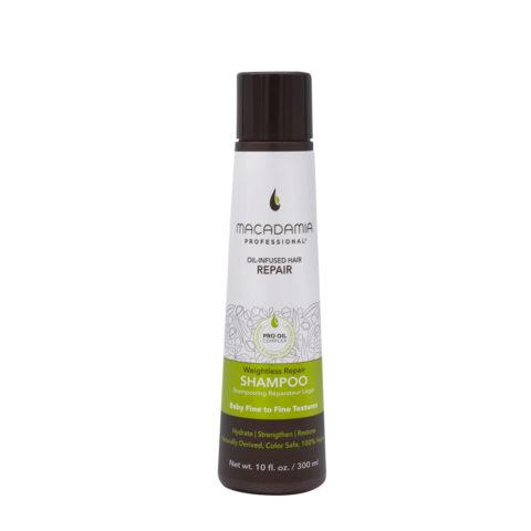 Macadamia Weightless Repair Shampoo 300ml - Shampooing  hydratant léger