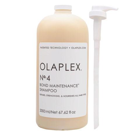 Olaplex Bond Maintenance Shampoo N.4 2000ml - Shampooing restructurant