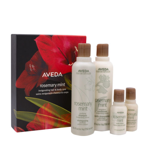 Aveda Rosemary Mint Kit Pour Corps Et Cheveux