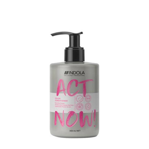 Indola Act Now! Color Après - Shampooing Pour les Cheveux Colorés 300ml