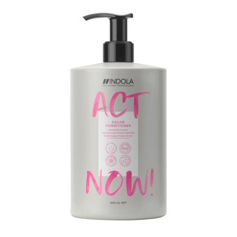 Indola Act Now! Color Après - Shampooing Pour les Cheveux Colorés 1000ml